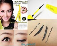 Mistine So Black Matte Liquid Eyeliner Super Water Proof Long Lasting 4.5 g.