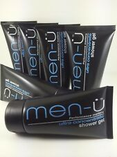 MEN-U ULTRA CONCENTRATE CITRUS & MINT SHOWER GEL  6 X100ML