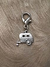 Caravan Clip On Jewellery or Key Ring Clip - New!