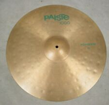 """PAISTE 1000 GREEN LABEL 20"""" POWER RIDE CYMBAL"""
