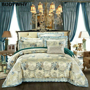2020 New Top 40 King King Luxury Satin Cotton Wedding Royal Bedding Set