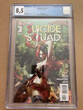 Suicide Squad #1. New 52 CGC 8.5