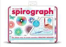 Spirograph Design Draw Tin Set Fun Kids Creativity Play Kit, New