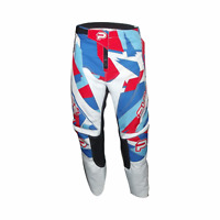 PULSE STORM KIDS YOUTH RED & WHITE MOTOCROSS MX ENDURO BMX MOUNTAIN BIKE PANTS