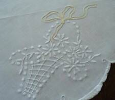 Vintage Linen Centerpiece Doily 