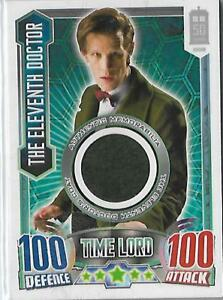 Dr Who Alien Attax 50th Anniversary Ed Costume 11th Doctor's Suede Coat # 4150