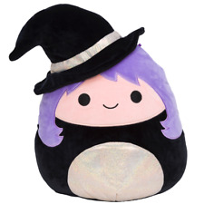 Squishmallow  8'' Madeleine the Black and Gold Witch, Kellytoy Halloween 2021