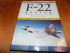 F-22 RAPTOR U.S. Air Force Fighter Jet F22 Lockheed Planes Aircraft Air War Book