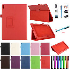 "For Lenovo Tab 4 10"" 8"" Inch Tablet Folding PU Leather Stand Case Cover Skin"