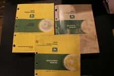 John Deere 9940 Cotton Picker Manual Set (Operators, Parts, Technical)