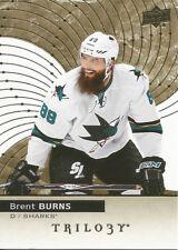 Brent Burns #8 - 2017-18 Trilogy - Base