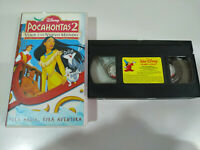 POCAHONTAS 2 VIAJE A UN NUEVO MUNDO Walt Disney - VHS Cinta Tape Español