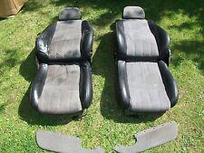 MGF/TF Half Leather/Alcantara Seats. (Gunsmoke Grey/Black) and Doorcard Inserts