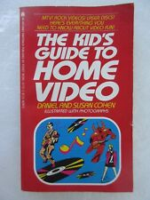 The Kid's Guide to Home Video by Daniel Cohen and Susan Cohen (1984, Paperback)