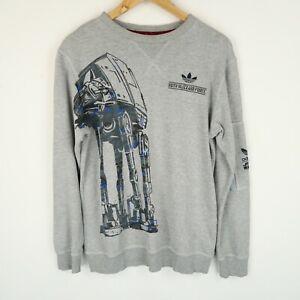 ADIDAS Originals Mens Star Wars Sweatshirt Retro SZ Small (G705)