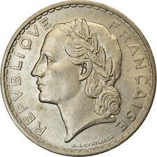 [#489866] Monnaie, France, Lavrillier, 5 Francs, 1933, ESSAI, SUP+, Nickel