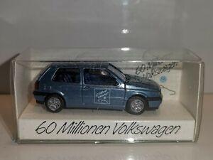 Wiking ( Werbemodell VW 18 ) -  VW Golf III GL - 60 Millionen  ,Aufl. 2000 Stück