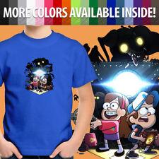 Disney Gravity Falls Mabel Dipper Pines Cartoon Unisex Kids Tee Youth T-Shirt