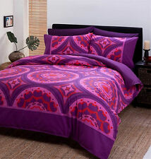 - New - Dickies Casablanca King Bed Quilt Cover Set In Hot