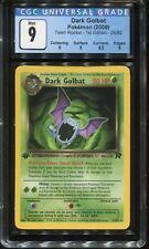 1st Edition Dark Golbat #24 Team Rocket CGC 9 MINT Pokemon Card