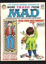 MORE TRASH FROM MAD #8  VG+ (INCLUDES ATTACHED POSTER INSERT BONUS)  1965 EC