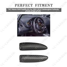 DCF Matte Shift Paddle Kit For 2003-2014 Lamborghini Gallardo LP550 LP560 LP570