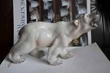RARE Dahl Jensen 1310 Walking Polar Bear Large Mint Royal Copenhagen Figurine