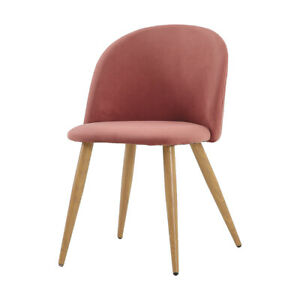 2pcs Modern Soft-clad Dining Chair Bread Chair Cameo