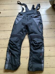 Buffalo Sonar Bib Textile Motorcycle Armoured Pant Scooter Jean Trousers Pants