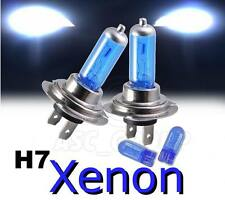 H7 55W (477 2 pin) XENON HEADLIGHT BULBS + FREE  501's -  Direct Replacement