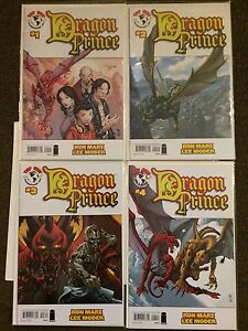 DRAGON PRINCE #1, 2, 3, 4 Ron MARZ  Near Mint + Complete Set All NM