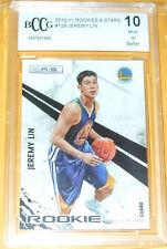 2010-11 Panini Rookie & Stars #129 Jeremy Lin Warriors RC GEM MT 10