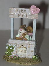 "Wee Forest Folk ""Kissin' Katie"" Approx 2.5"" M-323  Retired 2006 Kissing Booth"