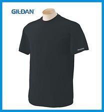 100 Blank Gildan Black Cotton Plain Color T-Shirt S-XL Wholesale Lots