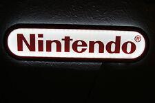 Nintendo Sign wii 3d light up lighted game