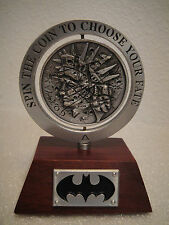 DC DIRECT BATMAN:TWO FACE LIMITED EDITION OFFICIAL COIN PROP REPLICA DARK KNIGHT