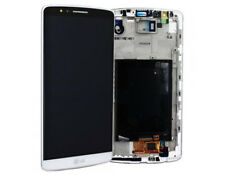 Original LG Optimus G3 D855 LCD Display Digitizer Touchscreen und Rahmen Weiß