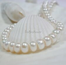 """South Sea Natural Pearls Button Heishi Rondelle  6 MM AAA Cream White 16"""""""