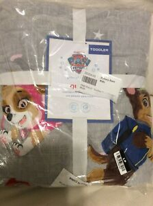 Pottery Barn Kids Paw Patrol Quilt Toddler Crib 36x50 Multi Color Puppy Dogs NWT