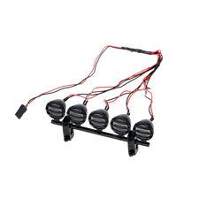G.T.POWER LED Roof Light Bar Set 5 Spotlight for 1/10 RC Crawlers