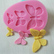 3D Butterfly Cake Decor Mold Silicone Fondant Chocolate Baking Mold Accessories