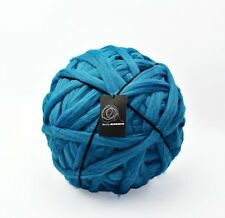 4kg Peacock Blue Mammoth Giant Chunky Extreme Arm Knitting Yarn Big Super Loop