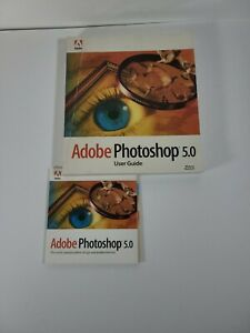 Adobe Photoshop 5.0 2 CDs Software Training & License Number