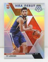 Ty Jerome RC 2019-20 SILVER MOSAIC PRIZM NBA Debut Rookie Card #273 Phoenix Suns