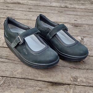 MBT Kaya Shoes Women's Mary Jane Size UK 5 EU38.5 Black