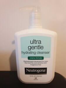 Neutrogena Ultra Gentle Hydrating Cleanser Creamy Formula 12 Fl Oz 354ml