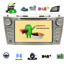 For Toyota Camry Aurion 2006-2011 Car Headunit Stereo GPS NAVI Android 9.0 2Din