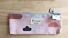 "Cute! Korean Cosmetics Bag-Clouds + Birds  Cosmetics Bag-Coated 9""-UNIQUE BRAND"