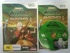 Avatar The Legend of Aang: Burning Earth (Nintendo Wii) Complete Good Condition