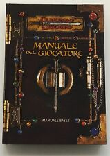 ⚝ MANUALE DEL GIOCATORE 3.0 ⚝ D&D DUNGEONS AND & DRAGONS 3.0 BASE ITALIANO